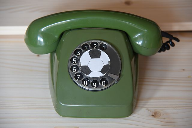 Trauer, Fussball, Telefon
